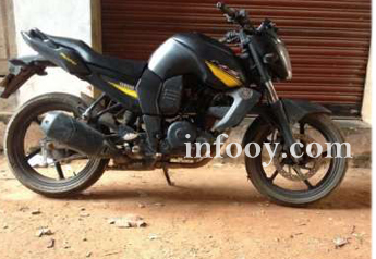 Yamaha fz s for sale....black smoked - Trivandrum