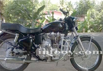 1987 Royal Enfield good condition freshly plated Bike for sale - Alappuzha