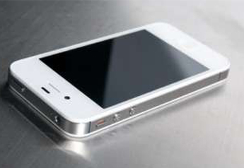 Apple iphone 4s 16gb white for sale with full box - Kochi
