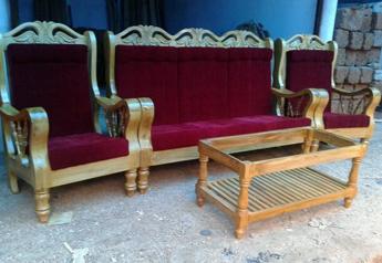 Theak wood work-Isha Furniture- Malappuram