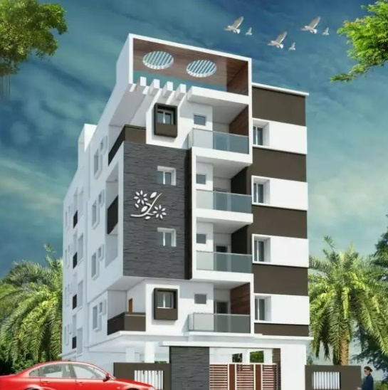 3 bhk flat and North facing - Nellore