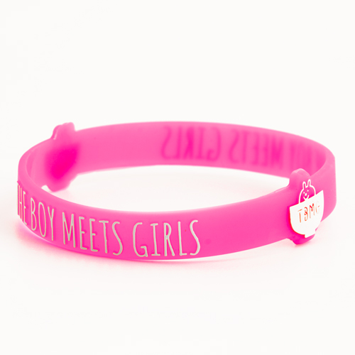 The Boy Meets Girls Wristbands