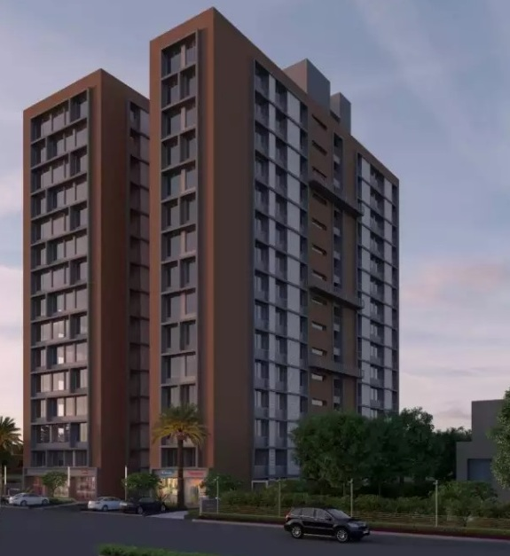 This is new upcoming commercial project in vasna main road