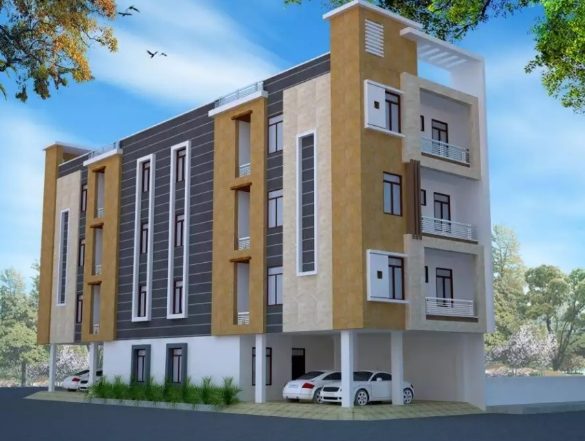 A Very beautiful 2 BHK Flats  JDA approved