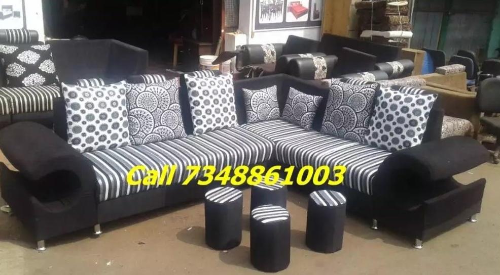 corner sofa set branded color design
