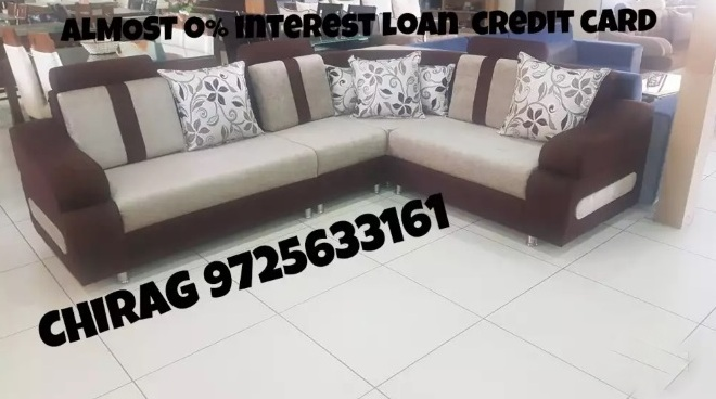 New sofa on loan - Memnagar, Ahmedabad