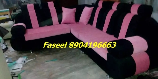 BP48 corner sofa set branded new - Nagarbhavi, Bengaluru