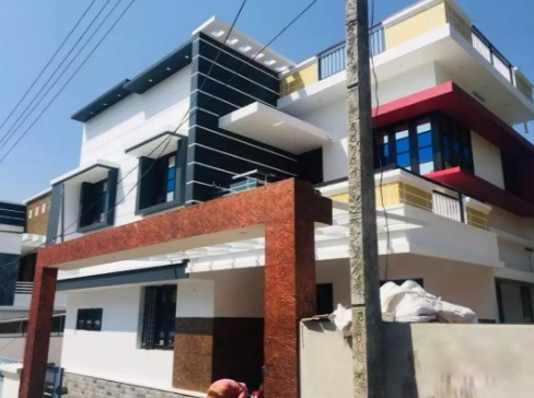 4 Cent With 1800 Sqft 4 BHK House For Sale In Asokapuram, Aluva, Kochi