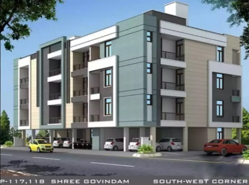3 BHK Luxury Flat JDA Approved Colony