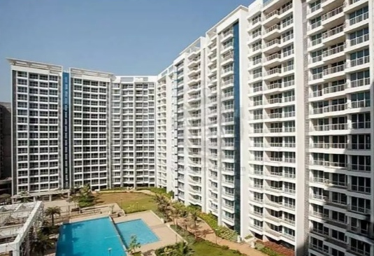 2 BHK 2430 Sqft high floor, open view with 3 Car Parking