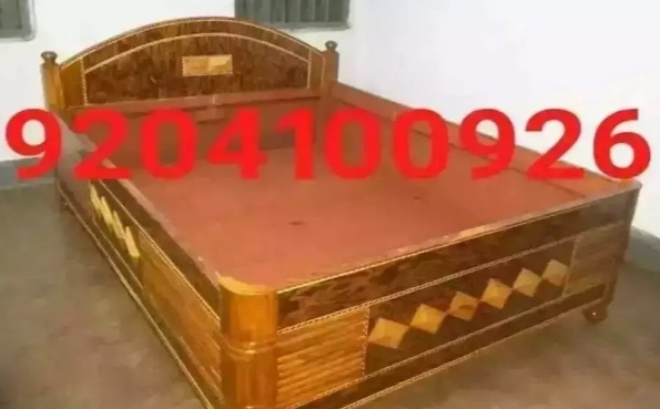 Brand new storage type queen size box bed