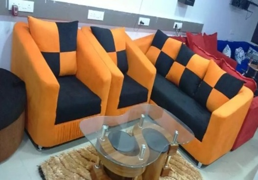 sofa set in best wood quality & 40 density foam