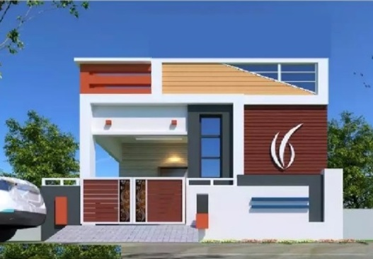 House near beeramguda 60 laks duplex house 70 laks