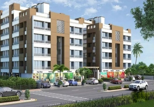 1 and 2 bhk modern flats in dindoli